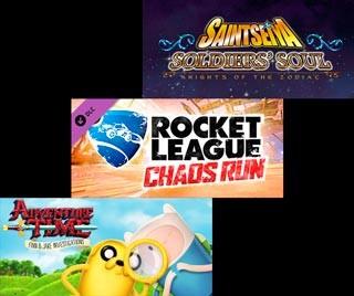 دانلود بازی های Saint Seiya: Soldier Souls ، Rocket League - Chaos Run DLC Pack و Adventure Time: Finn and Jake Investigations