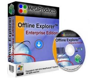 دانلود آخرین نسخه Offline Explorer نرم افزار مشاهده آفلاین وبسایت