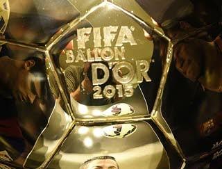 دانلود فیلم مراسم Ballon d'Or 2015 توپ طلای 2015