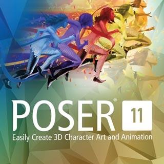 نرم افزار Poser Pro به همراه آخرین بروز رسانی و محتویات تجاری