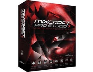دانلود نرم افزار Acoustica Mixcraft ویرایشگر و میکسر قدرتمند فایل های صوتی