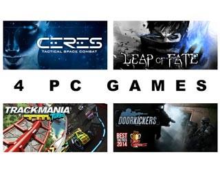 دانلود بازی های Leap of Fate ، Ceres ، Door Kickers و Trackmania Turbo