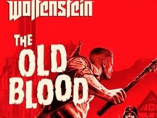 کاور و لیبل دیسک بازی Wolfenstein: The Old Blood