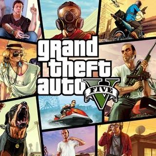کاور و لیبلدیسک بازی GTA V