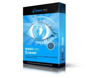 دانلود نرم افزار East-Tec Eraser پاکسازی اطلاعات و فعالیت ها در ویندوز