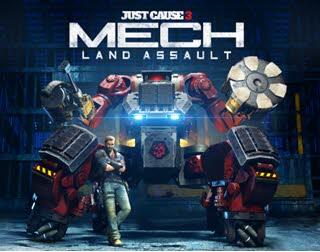 لانچ تریلر Mech Land Assault برای عنوان Just Cause 3 منتشر شد