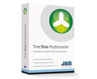 دانلود نرم افزار TreeSize Professional مدیریت فضای هارد دیسک