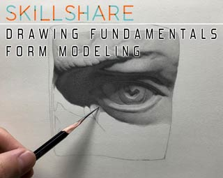 دانلود فیلم آموزش Drawing Fundamentals: Form Modeling