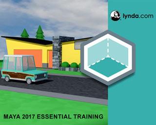 دانلود فیلم آموزش Maya 2017 Essential Training