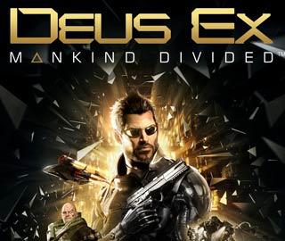 کاور و لیبل دیسک بازی Deus Ex: Mankind Divided