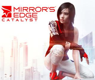 کاور و لیبل دیسک بازی Mirror's Edge Catalyst