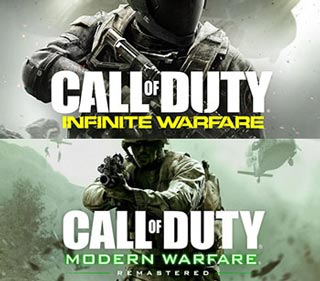 دانلود بازی های Call of Duty Infinite Warfare و Call of Duty Modern Warfare Remastered برای کامپیوتر
