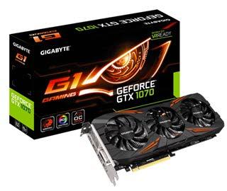 بررسی کارت گرافیک GIGABYTE GeForce GTX 1070 G1 GAMING