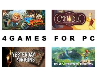 دانلود بازی های Rad Rodgers World One ، Candle ، Yesterday Origins و Planet Explorers