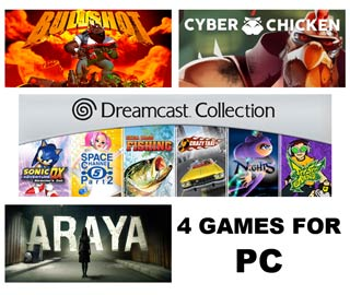 دانلود بازی های ARAYA ، Dreamcast Collection Remastered ، Cyber Chicken و Bullshot