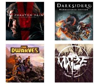 دانلود بازی های The Dwarves ، MGS V The Phantom Pain ، Maize و Darksiders Warmastered Edition