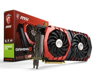 بررسی کارت گرافیک MSI GeForce GTX 1060 GAMING X 6G