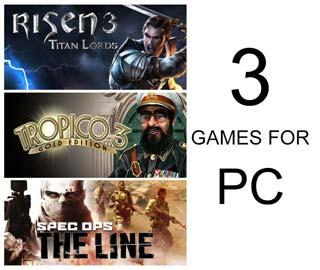 دانلود بازی های Spec Ops The Line ، Risen 3 Titan Lords Enhanced Edition و Tropico 3 Gold Edition