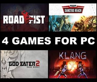 دانلود بازی های Warhammer 40,000: Sanctus Reach ، Klang ، Road Fist و GOD EATER 2 Rage Burst