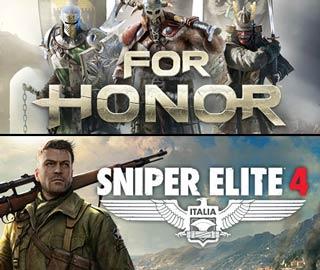 دانلود بازی های Sniper Elite 4 و For Honor برای کامپیوتر
