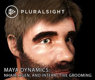 دانلود فیلم آموزش Maya Dynamics: nHair, Xgen, and Interactive Grooming