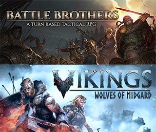 دانلود بازی های Battle Brothers و Viking: Wolves of Midgard برای کامپیوتر