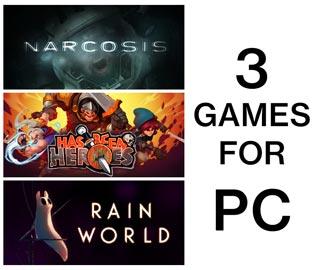 دانلود بازی های Rain World ، Has-Been Heroes و Narcosis برای کامپیوتر
