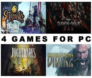 دانلود بازی های Warhammer 40000 Dawn of War III ، Little Nightmares ، Armello و Expeditions: Viking برای کامپیوتر