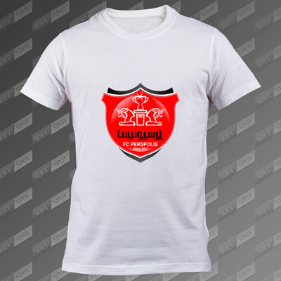 تی شرت مردانه سفید Persepolis FC TS-00000009