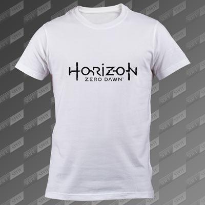 تیشرت مردانه سفید Horizon Zero Dawn TS-00000018