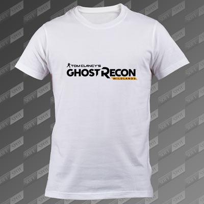 تیشرت مردانه سفید Ghost Recon: Wildlands TS-00000019