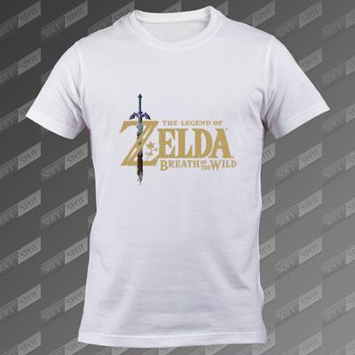 تیشرت سفید The Legend of Zelda Breath of the Wild TS-00000023
