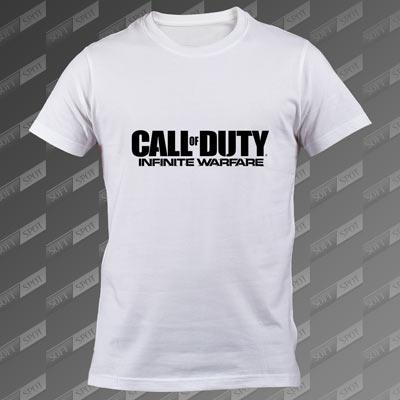 تیشرت سفید Call of Duty: Infinite Warfare TS-00000025