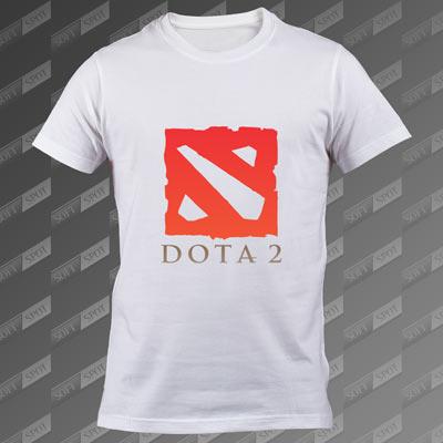 تیشرت سفید Dota 2 TS-00000028