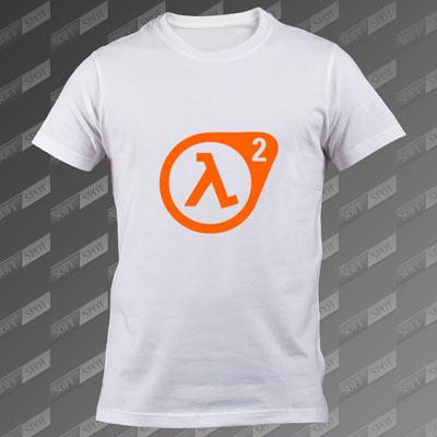 تیشرت سفید Half-Life 2 TS-00000032