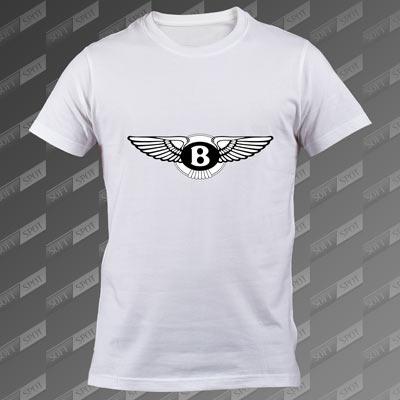 تیشرت سفید Bentley TS-00000041