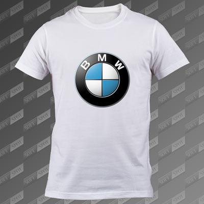 تیشرت سفید BMW TS-00000042