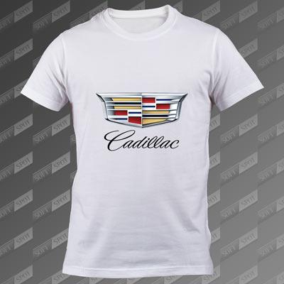 تیشرت سفید Cadillac TS-00000044