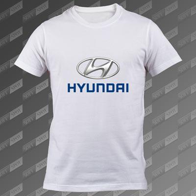 تیشرت سفید Hyundai TS-00000051