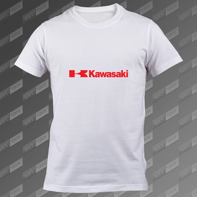 تیشرت سفید Kawasaki TS-00000054
