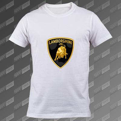 تیشرت سفید Lamborghini TS-00000057