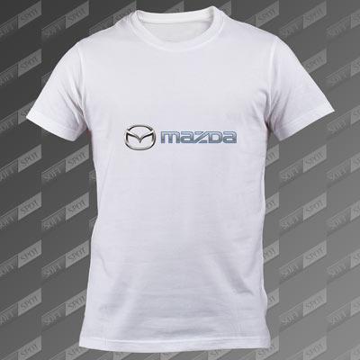 تیشرت سفید Mazda TS-00000059
