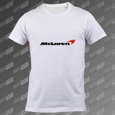 تیشرت سفید McLaren TS-00000060