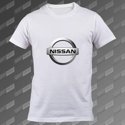 تیشرت سفید Nissan TS-00000063