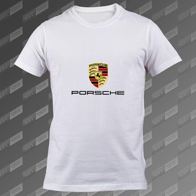 تیشرت سفید Porsche TS-00000067