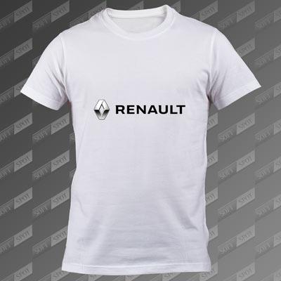 تیشرت سفید Renault TS-00000068
