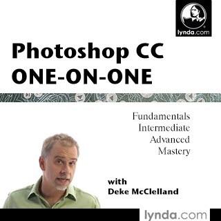 مجموعه کامل و بی نظیر تمام آموزش های Photoshop CC One-on-One از موسسه لیندا