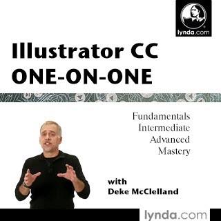 مجموعه کامل و بی نظیر تمام آموزش های Illustrator CC One-on-One از موسسه لیندا