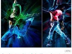 دانلود اکشن فتوشاپ ایجاد افکت رقص نور بر روی تصاویر از گرافیک ریور - Graphicriver Discolight Photoshop Action