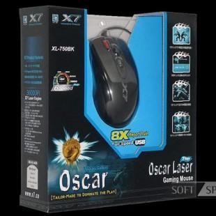 ماوس گیمینگ A4Tech Oscar Laser Gaming Mouse (XL-750BK)